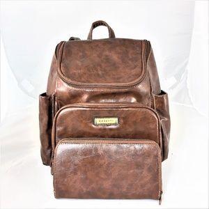 ROSETTI Faux Leather Back Pack & Single Coin Purse